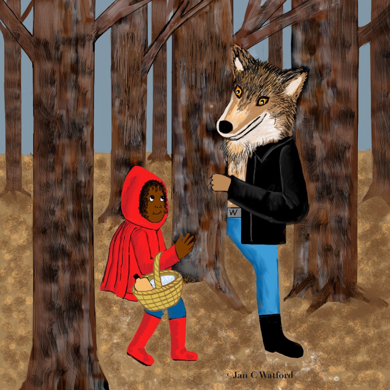 Multi-Cultural Red Riding Hood
