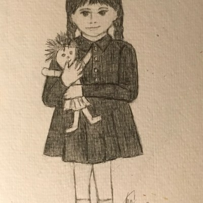 Me-As-A-Kid- prompt-vintage-#52-Week-Illustration-Challenge