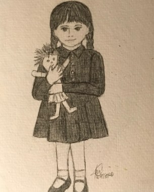 Me-As-A-Kid- prompt-vintage-#52-Week-Illustration-Challenge