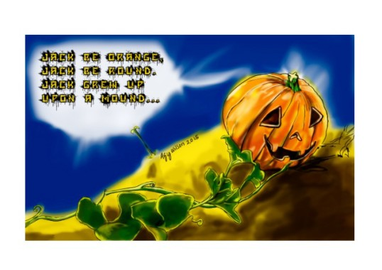 Agy Wilson and Her Halloween Poems