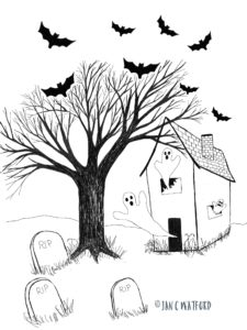 haunted-house-halloween-illustrations-2016