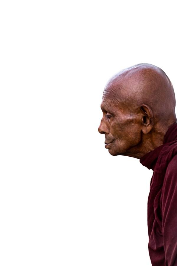 Print of a Monk