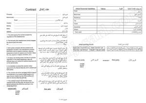 Контракт на работу в Ливане
