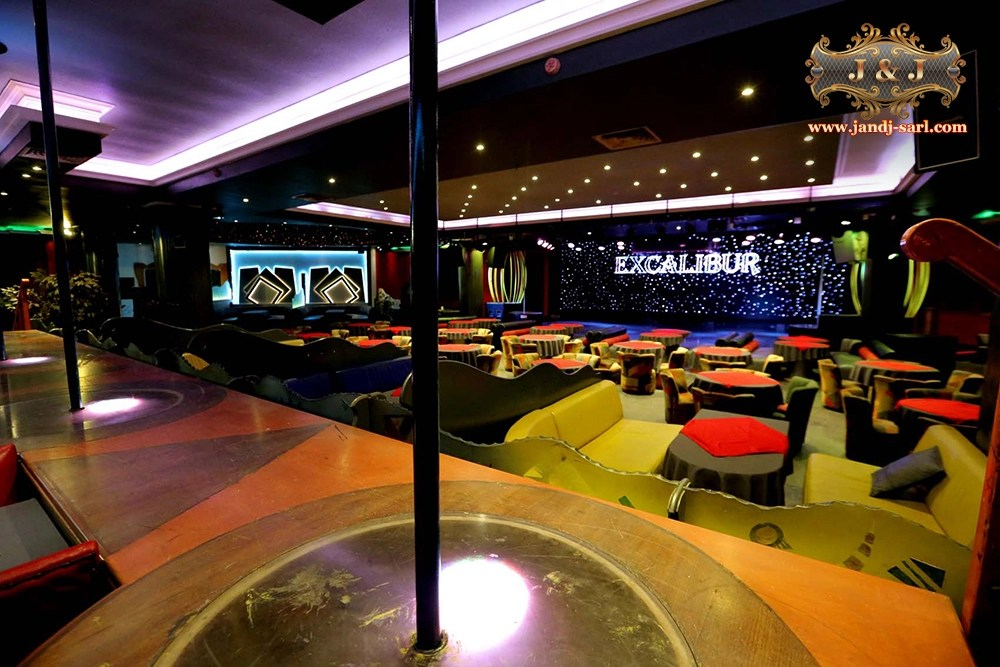 Excalibur Show super night club Ливан