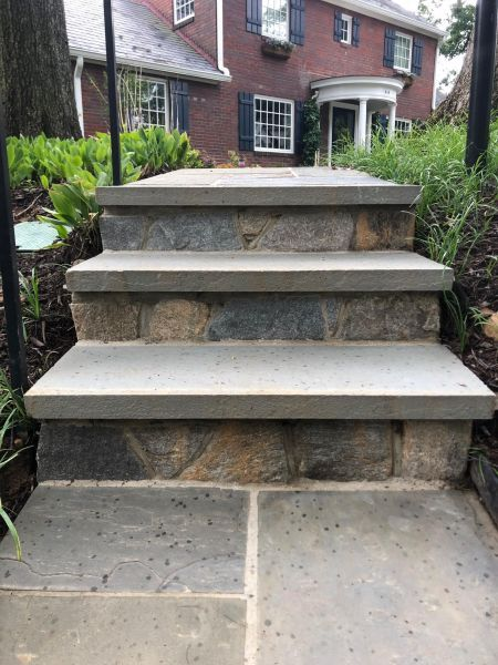 Outdoor Steps Stairs Amp Pathways J Amp J Landscape