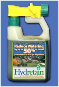 cut watering in half with hydretain- https://www.jandnfeedandseed.com