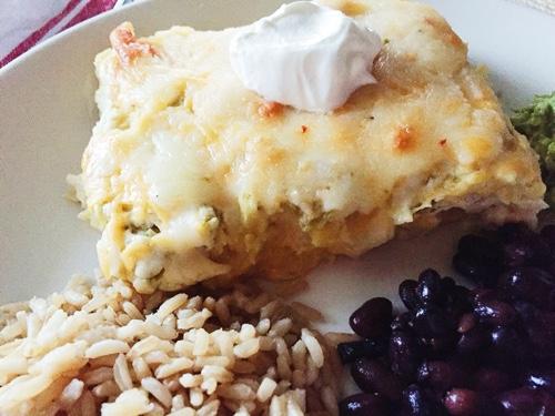 Easy and delicious chicken enchiladas recipe