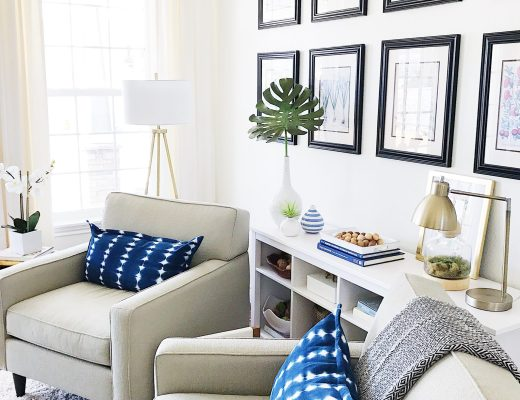 Spring Home Inspiration: Decorating with Navy Blue