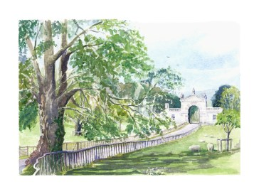 Fonthill Arch in May