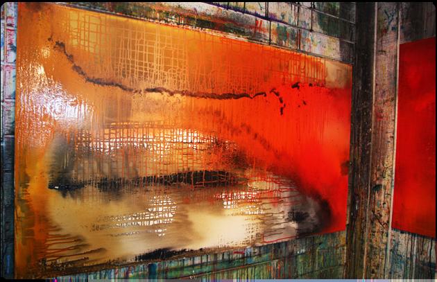 Igangværende maleri