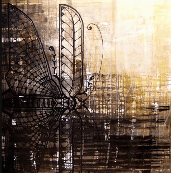 Black goldsmith 150X150 cm · privat eje