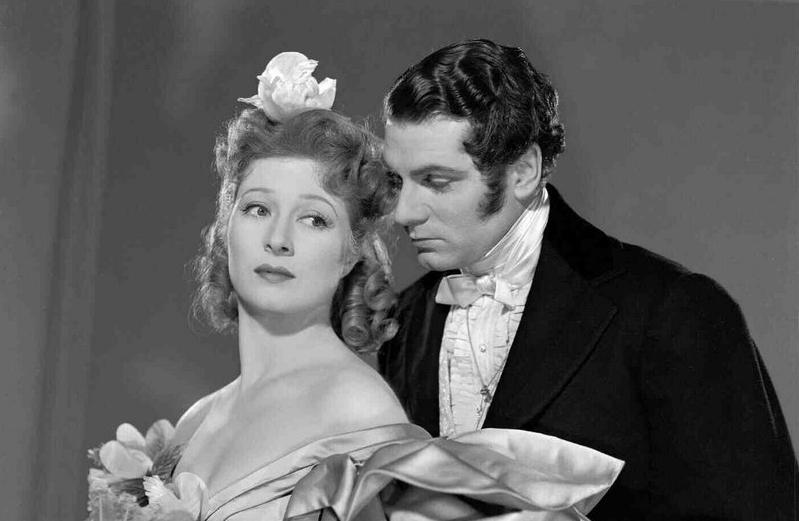 Orgulho e preconceito 1940 - Greer Garson e Laurence Olivier