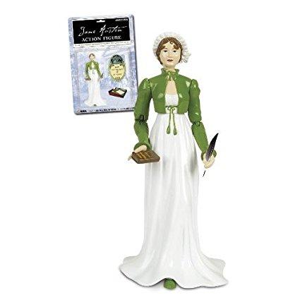 Boneca Jane Austen ActionFigure Verde