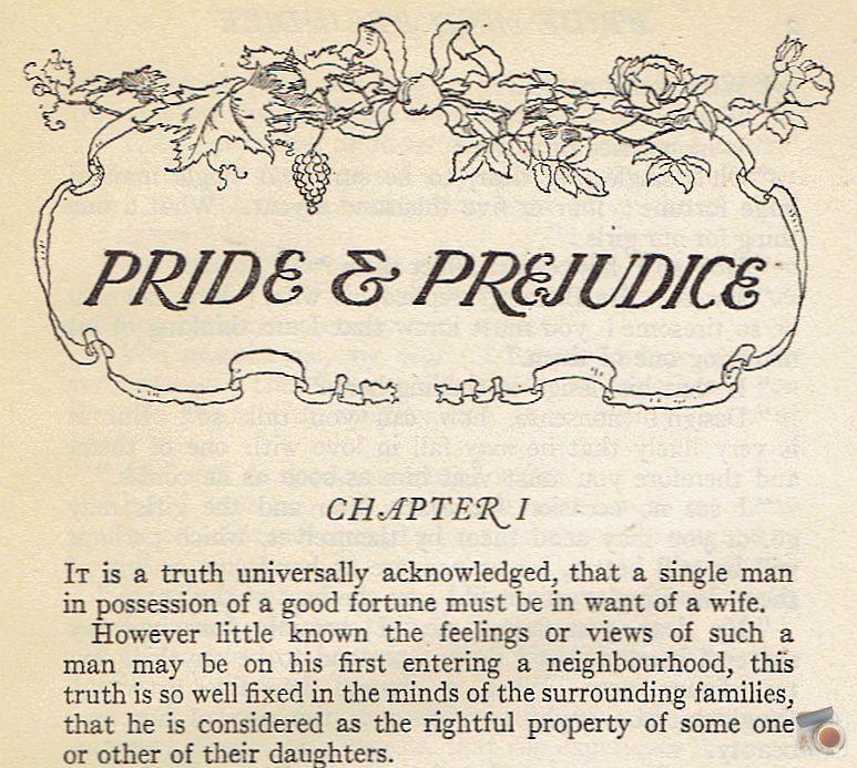 A verdade de Orgulho e preconceito