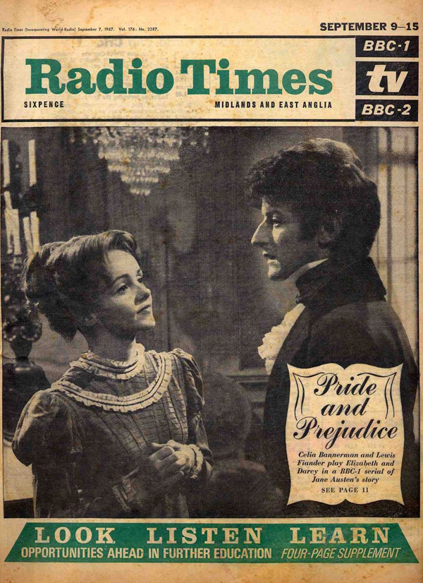 Darcy Elizabeth BBC 1967