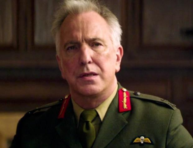Alan Rickman Coronel Brandon