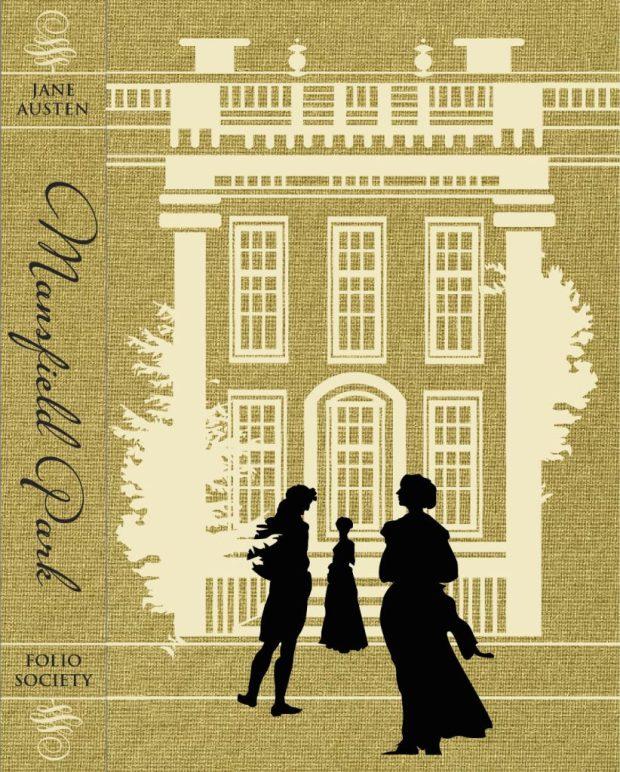 Mansfield Park Capa Folio Society por Darya Shnykina