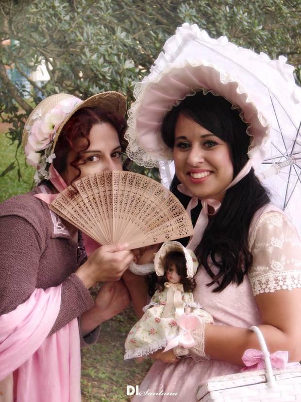 Mara Sop e Viviane França · Foto: Dirceu Santana