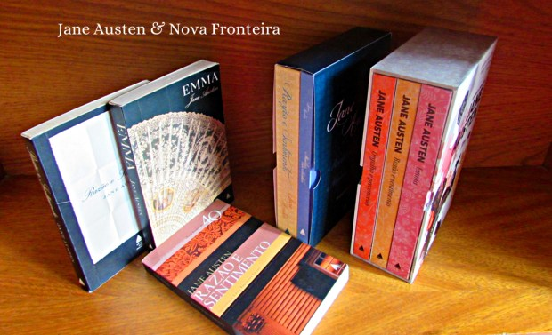 Jane Austen Nova Fronteira livros