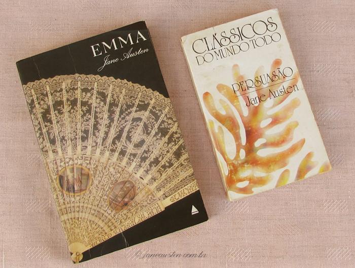 Primeiras traduções de Jane Austen no Brasil - Emma e Persuasão