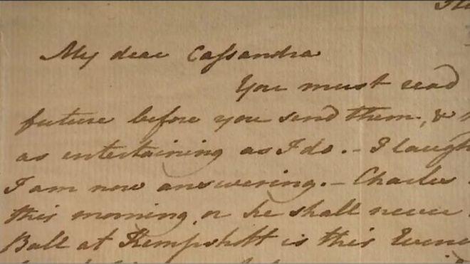 Cartas de Jane Austen para Cassandra