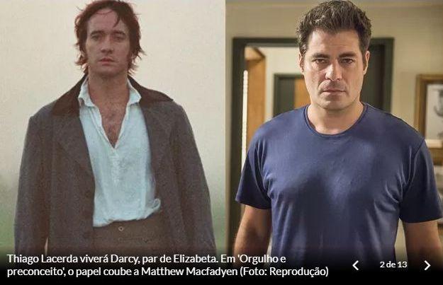 Personagens de Orgulho e Paixão: Darcy