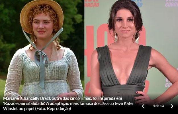 Personagens de Orgulho e Paixão: Marianne