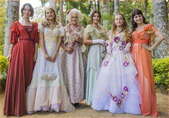 Senhoritas Benedito · Novela Orgulho e Paixão