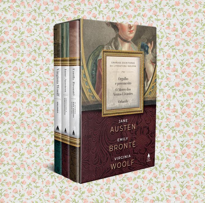 BOX Austen Bronte Woolf