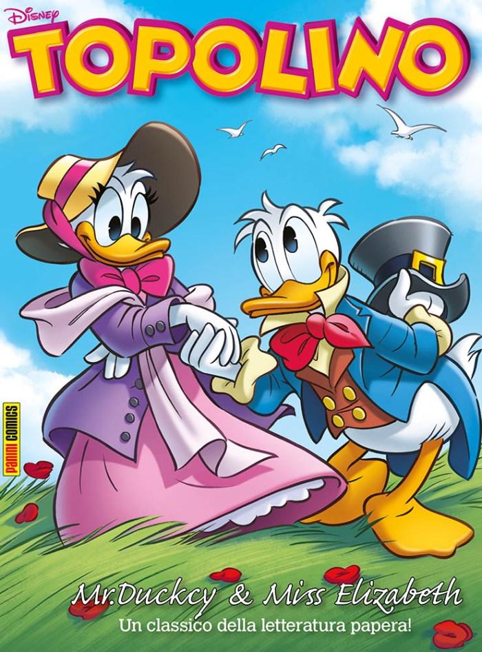 Mr Duckcy e Elizabeth Pennet