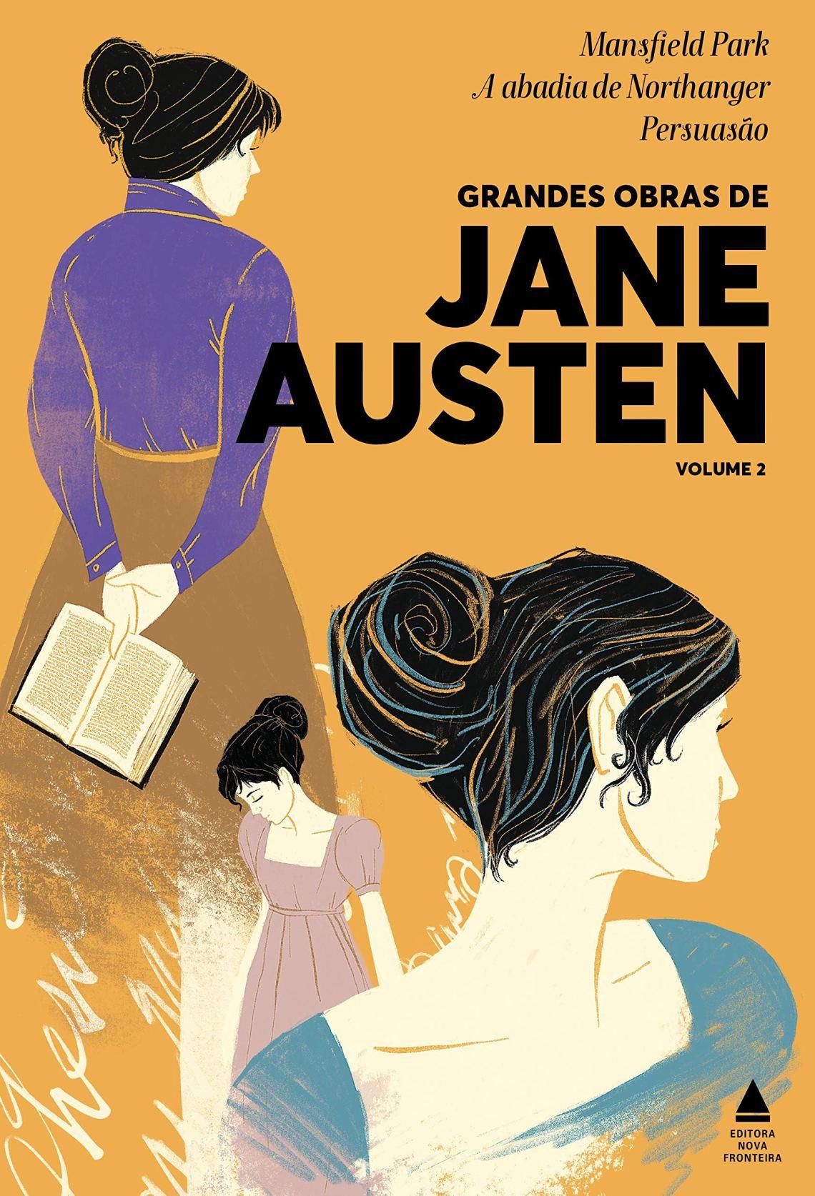 Coleção Grandes Obras de Jane Austen Bo 2