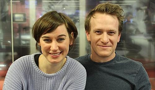Pippa Nixon (Elizabeth Bennet) & Jamie Parker (Mr. Darcy)