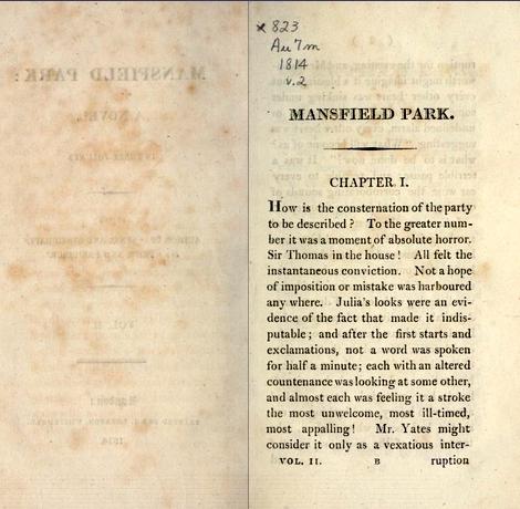 Mansfield Park, volume II