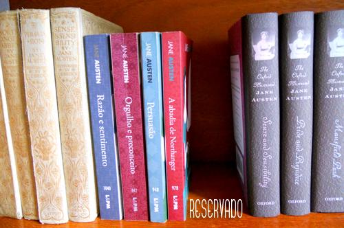 Reservado Jane Austen L&PM