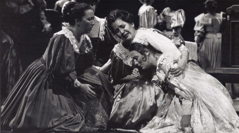 Jane Edgren in Lucia di Lammermoor with Mariela DeVia - Biography page