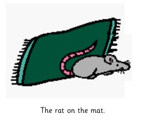 Rat on the Mat