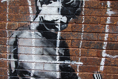 Banksy in Boston by Chris Devers