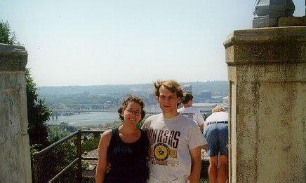 Jane in Cincinnati (Mt. Adams neighborhood), 1999