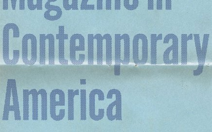 The Little Magazine in Contemporary America