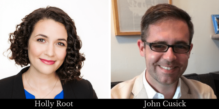 Holly Root and John Cusick