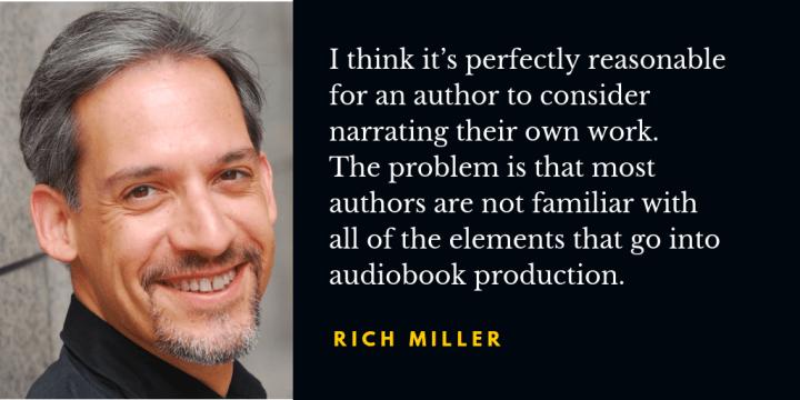 Rich Miller audiobook