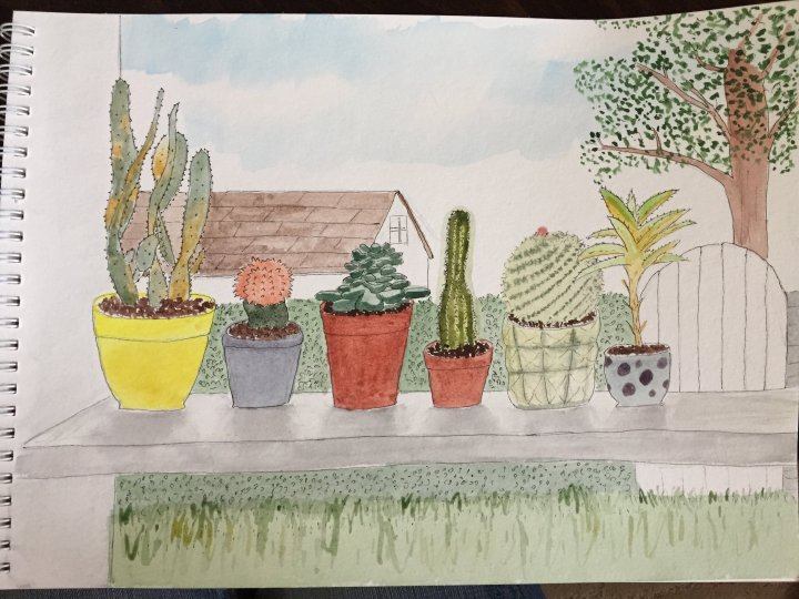 Yi Shun Lai watercolor notebook