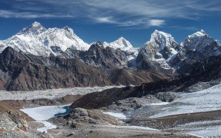 Renjo La Pass to Mount Everest, Nepal