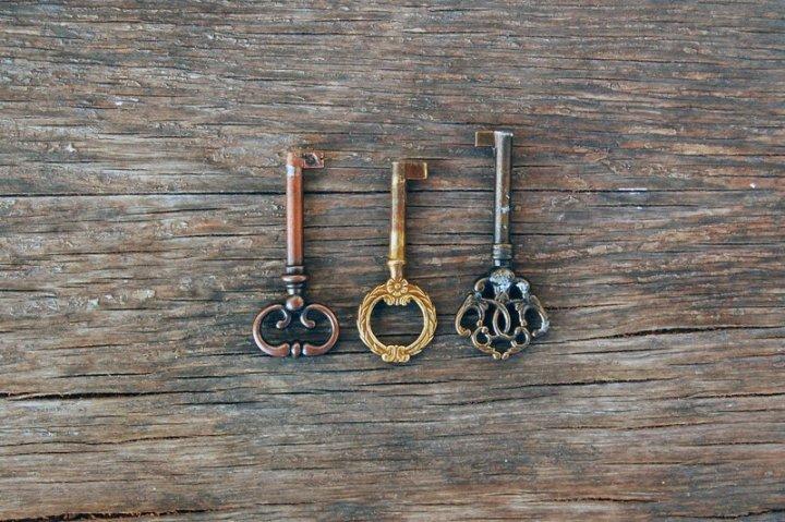 Image: three keys