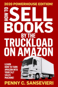 Image: book cover of Penny Sansevieri's How To Sell Books by the Truckload on Amazon 2020 Edition