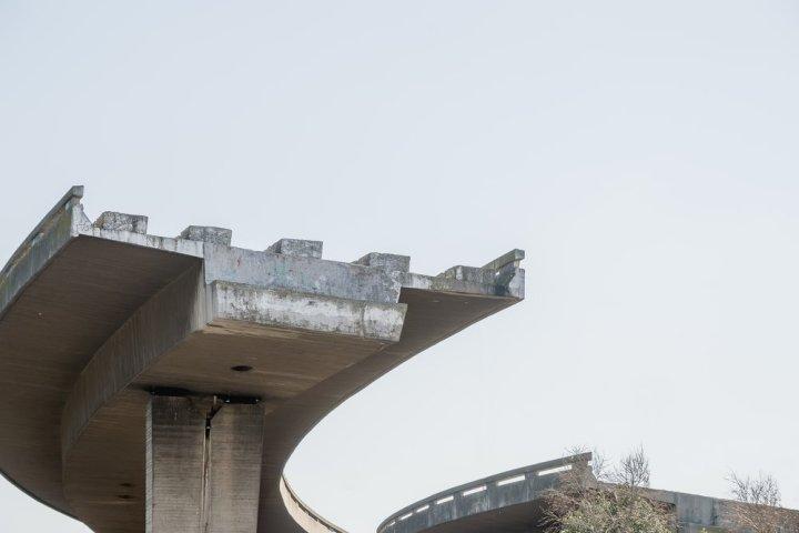 Image: unfinished highway