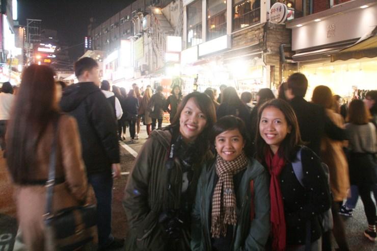 saturday night at hongdae seoul