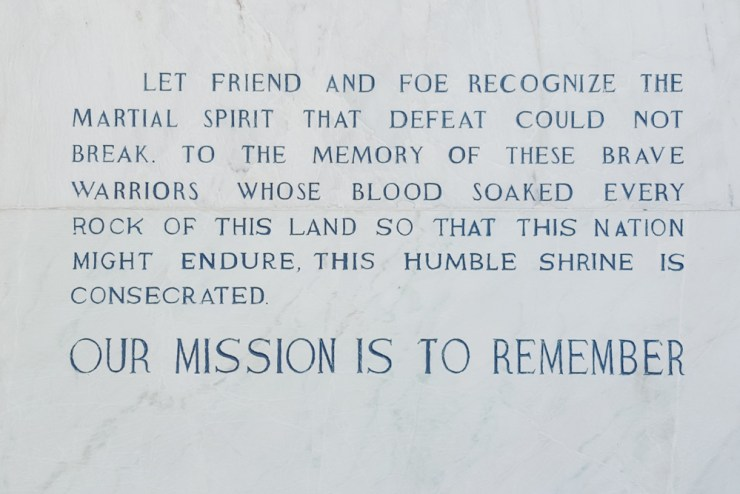 our mission is to remember