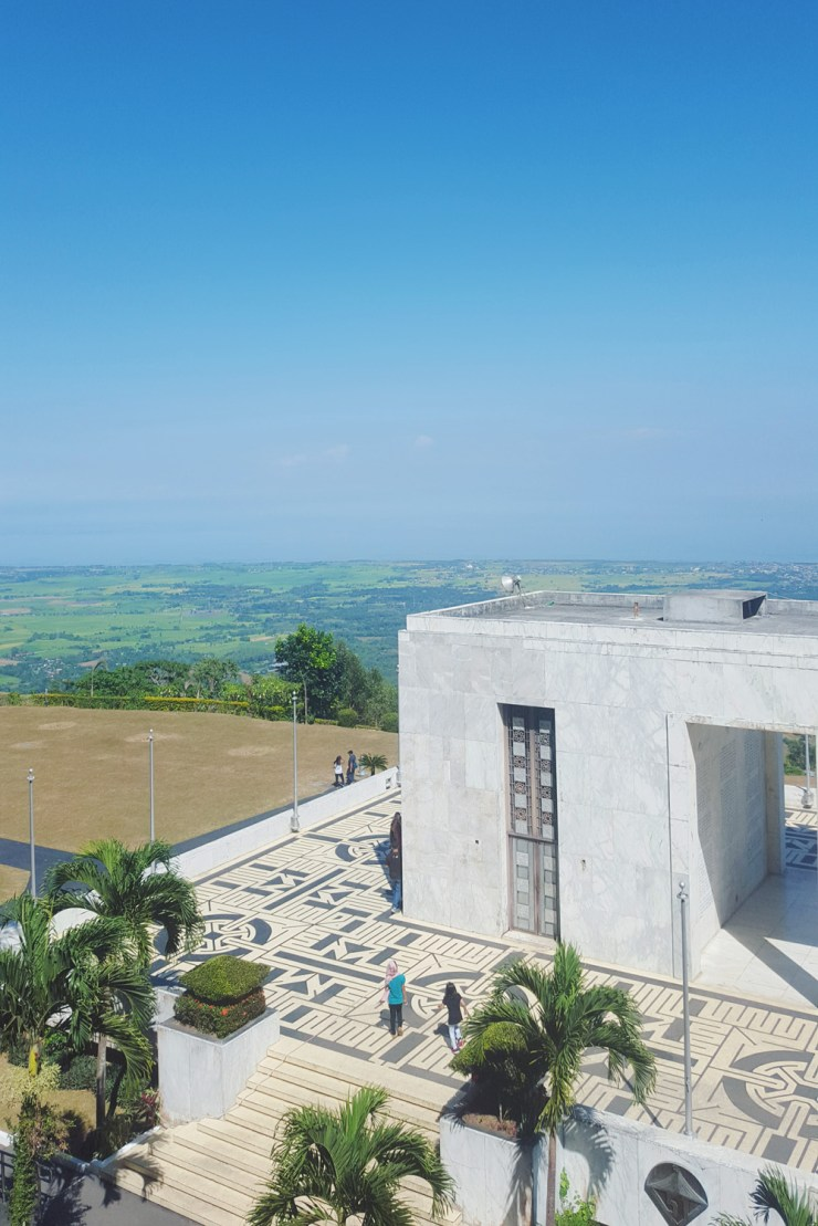 view from the top of mount samat