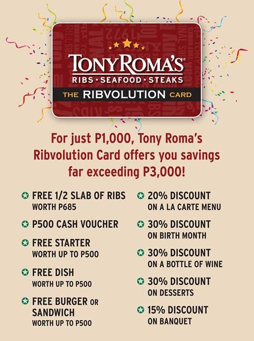 tony-romas-ribvolution-privilege-card-40